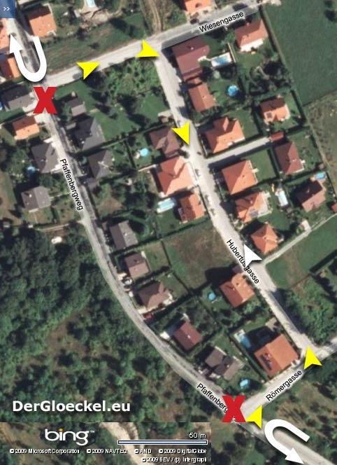 Der Reiz der Logik: Wenn eine Straße gesperrt wird, kann die unmittelbar Angrenzende als Umleitungsstrecke verwendet werden