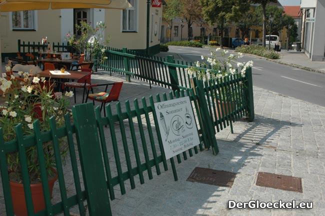 Vandalismus beim Cafe am Tor