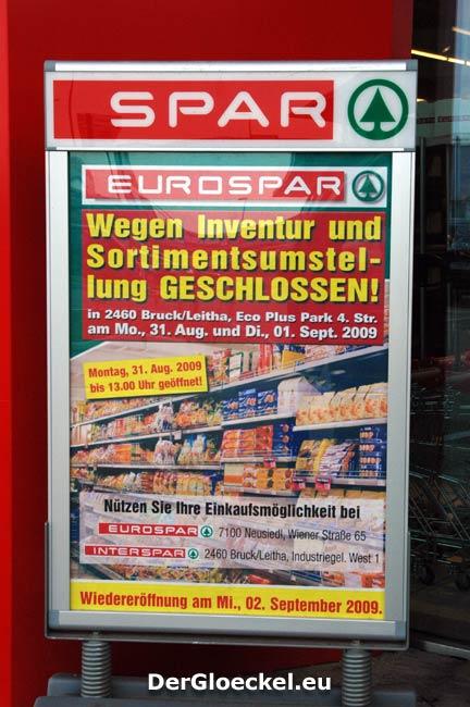 Eigentor vom EUROSPAR