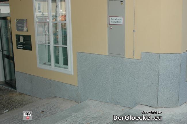 Granitplatten statt Kalksandstein - reine Ansichtssache ...