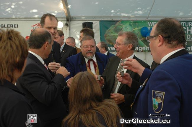 v.l.n.r.: LH-Stv. Wolfgang SOBOTKA (ÖVP), Finanzstadtrat Andreas STROHMAYER (ÖVP), Bundesrat Friedrich HENSLER (ÖVP)