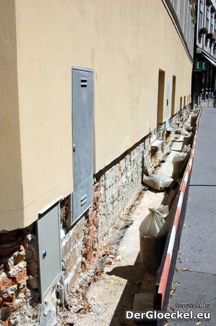 Fehler in der Bauplanung führten am Rathaus in Hainburg zur Renovierung der Renovierung