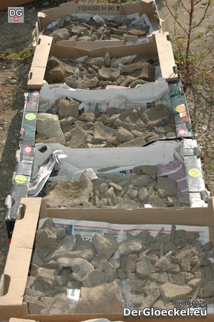 Zahlreiche Funde am sogenannten GÜPL werden die Archäologen noch lange beschäftigen. Nach der kommenden Winterpause geht es im Frühjahr mit den Ausgrabungsarbeiten weiter
