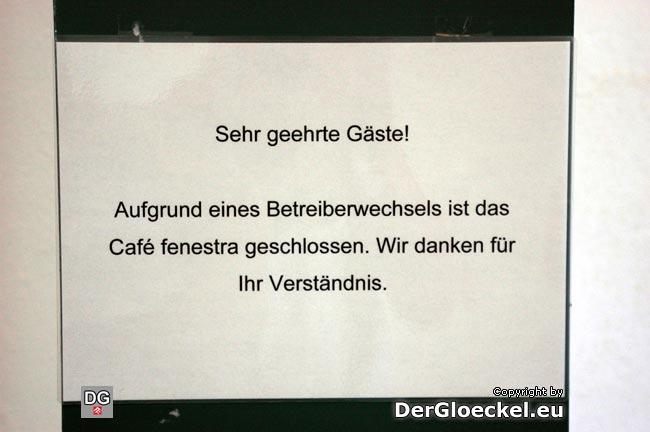 Auch am 20.8.09 immer noch der gleiche Anschlag in der Kulturfabrik Hainburg