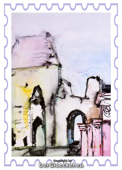 Dieses Bild wird die Sonderbriefmarke zur NÖ Landesausstellung im Römerland Carnuntum 2011 zieren