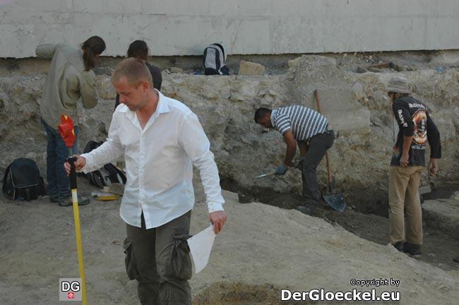 archäologische Grabarbeiten
