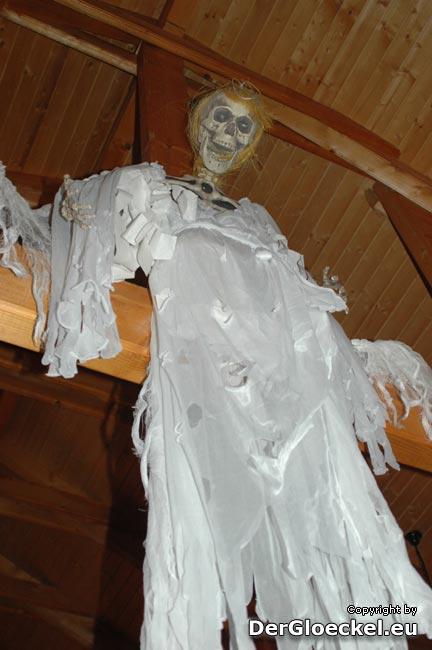 Halloween-Dekoration vom HSC Hainburg