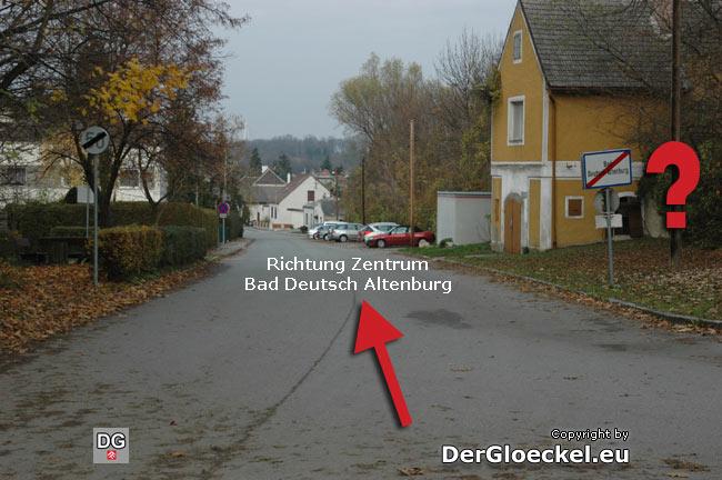 16.11.2009 falsches Ortsende in Bad Deutsch Altenburg
