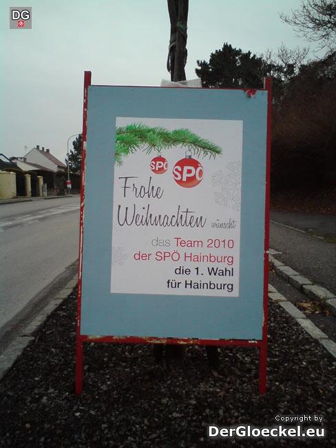 SPÖ Wahlwerbung