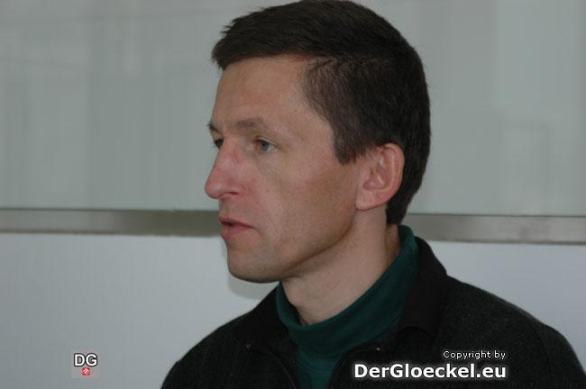 Gemeinderat Ing. Robert TÜRK im Pressegespräch zur Fusion der HI und BLH