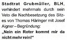 SPÖ-Appei 3. Beklagte Aussage