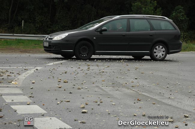 gefährlicher Straßenzustand