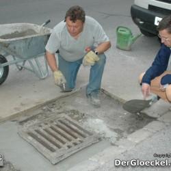 Der Baufacharbeiter mit Ing. Türk im Gespräch