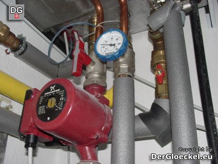defekte Vaillant Gasheizung eines Geschädigten