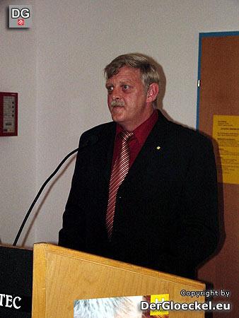 Vereinsobmann vom HILFSWERK Hainburg, Karl KINDL