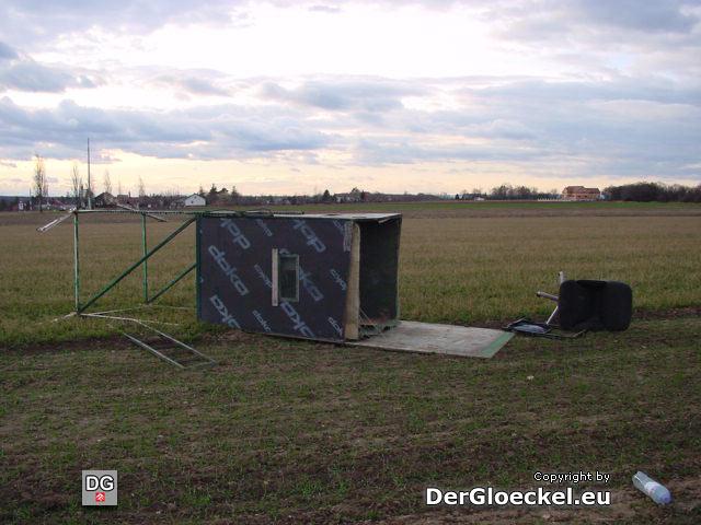 Sturmschaden von Kyrill - 26 Tage nach dem Ereignis