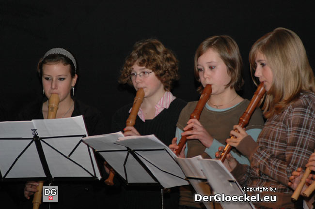 Auftritt der Angehörigen der Musikschule Hainburg