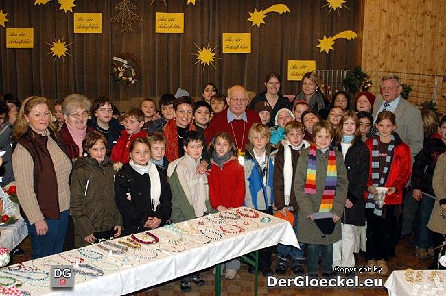 Eröffnung des Pfarradventmarktes in Hainburg an der Donau