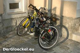 so war das Fahrrad abgestellt