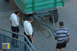 Lokalaugenschein der Polizisten der Zivilstreife
