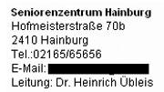Faksimile der Website der Niederösterreichischen Landesregierung vom 8.11.2005