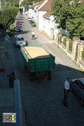 Die Verkehrsregelung wurde von der Zivilstreife eingeleitet