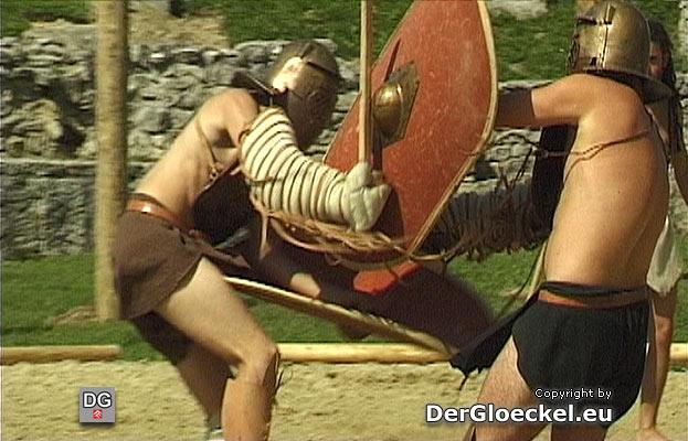 Gladiatorenkämpfe in Bad Deutsch-Altenburg