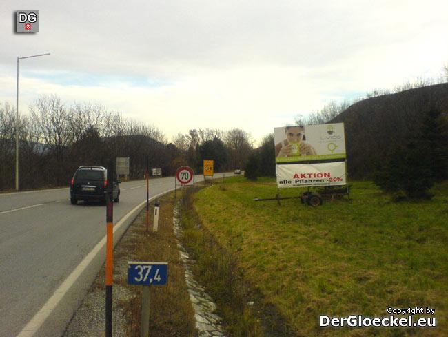 verbotene Werbung außerhalb des Ortsgebietes durch die Firma LIVIOS GmbH