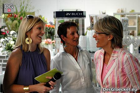 Eröffnung vom LIVIOS am 31.7.2009 - li. Mag. (FH) Bettina Huber, re. Landesrätin Dr. Petra Bohuslav
