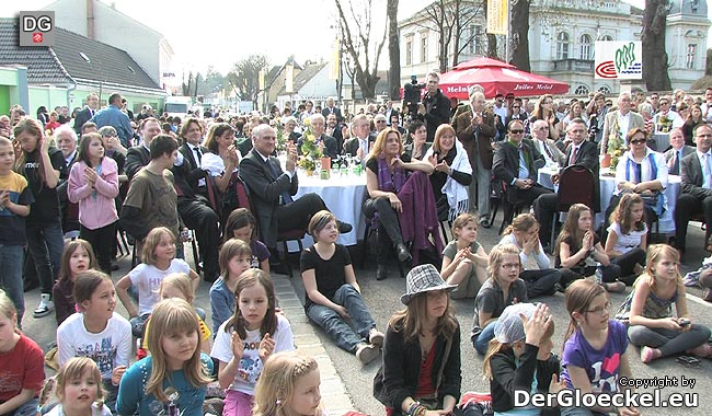Eröffnungsfeier des neuen Hauptplatzes in Bad Deutsch-Altenburg