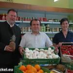 Abdurrahman Begendi - Besuch von Bürgermeister Windholz und der Vizebürgermeisterin Perger