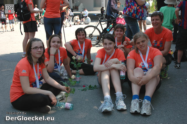 Österreichischer DM Frauenlauf - nach dem Wettbewerb