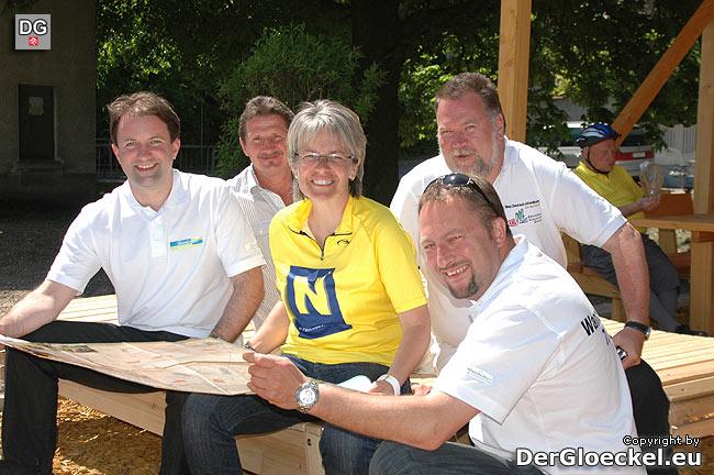 Eröffnung des Fahrradrastplatzes in Bad Deutsch-Altenburg
