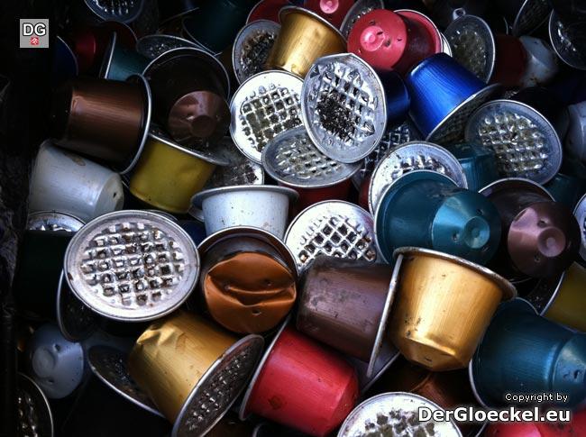 Nespresso - unzureichende Recycling-Abgabestellen