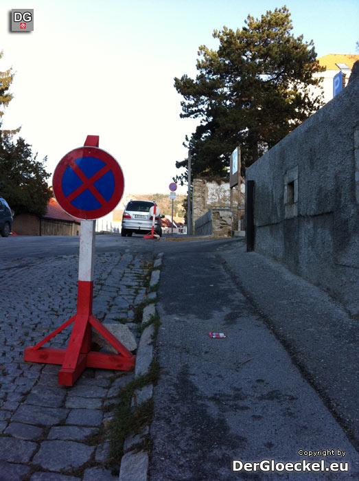 beseitigtes Verkehrshindernis am Schulweg | Foto: DerGloeckel.eu