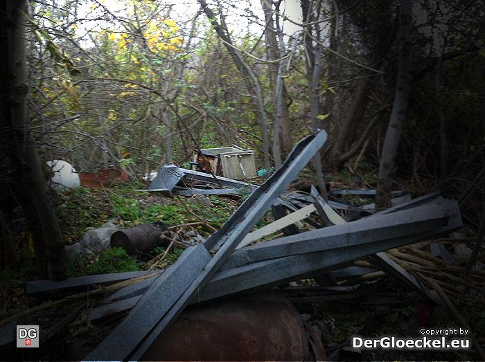 Es gibt viel im Umweltbereich in der Region von Hainburg zu tun - Fallbeispiel einer Deponie im Wald | Foto: DerGloeckel.eu
