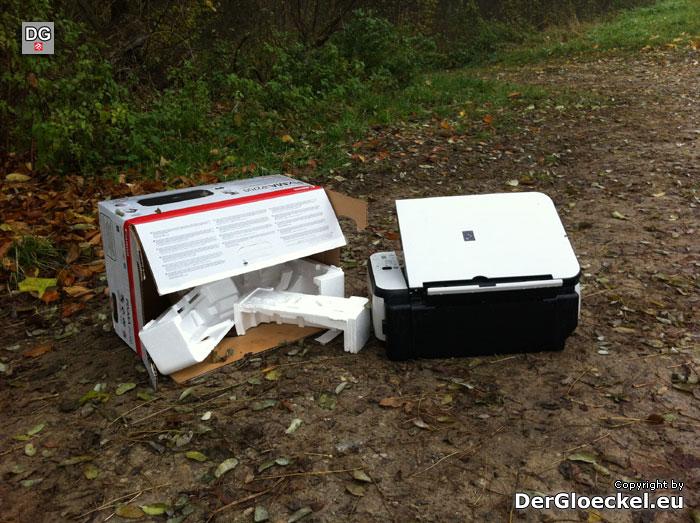 illegale Entsorgung von Elektronikschrott | Foto: DerGloeckel.eu