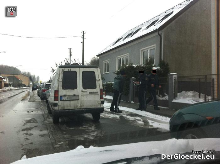 Der Verdächtige konnte von uns in Wolfstal gestellt werden | Foto: DerGloeckel.eu